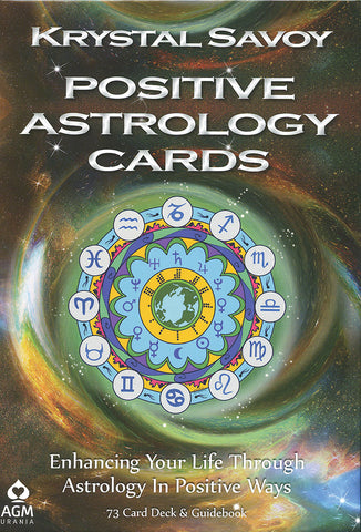 Positive Astrology Cards - Card Deck and Guidebook; FB1500