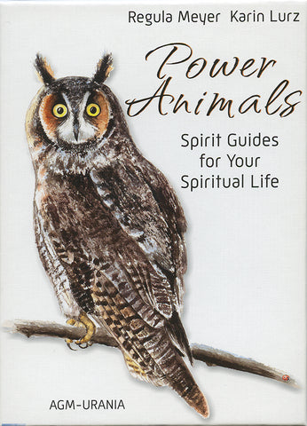 Power Animals - Spirit Guides Deck with Animal gemstone Spirit Stone; FB1499