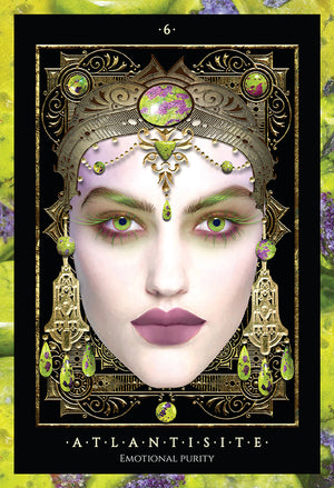 Precious Gems Oracle Card Set