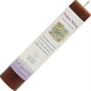 Reiki Energy, Hand-Poured Skinny Pillar Candles with Essential Oils & Intention Blends, FB2592