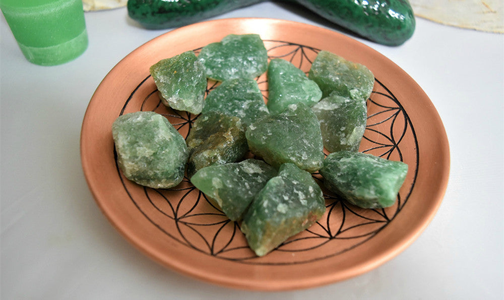 Rough Green Fuchsite Quartz with Mica inclusions, FB1216