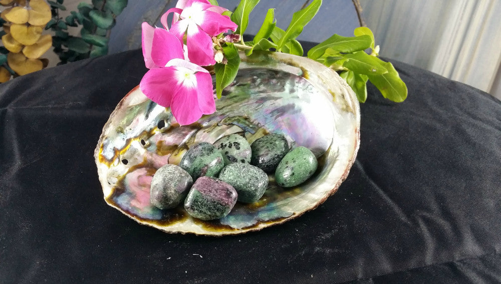 Tumbled Ruby Zoisite for the Heart Chakra, Joy, Happiness , Passion & Powerful Healing