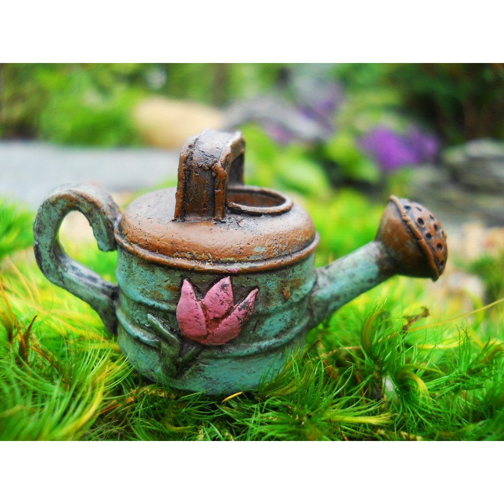Fairy Garden / Miniature Accessories - Rustic Water Can; FB1833