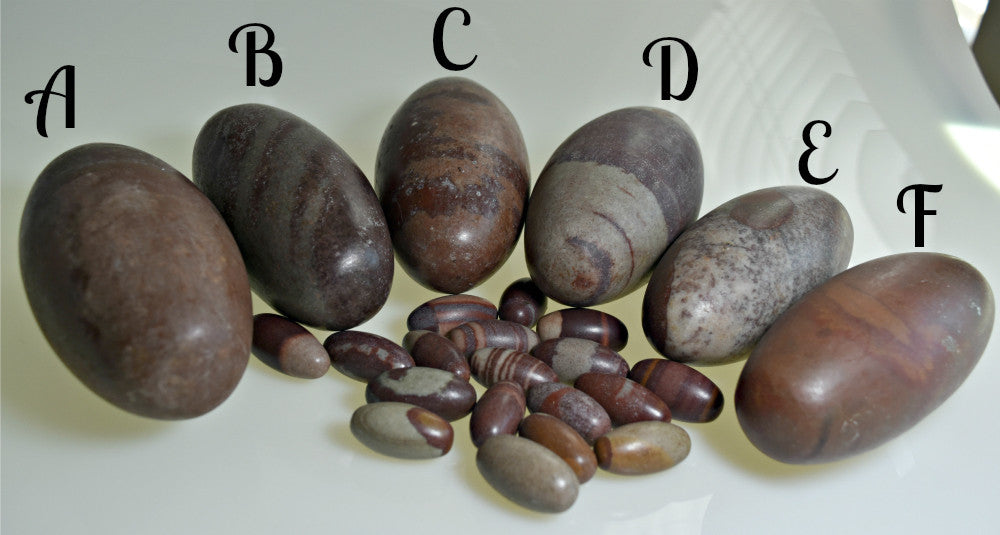 Shiva Lingam Stones - Contentment, Fertility, Lower Chakras - Reconciliation; FB1131