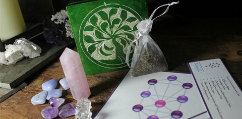 Tree of Life Meditation & Calm Collection with Soapstone Box & Layout