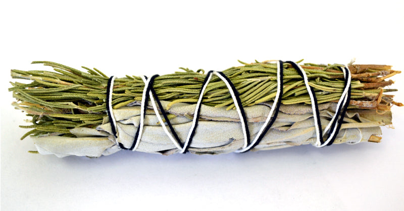 White Sage & Rosemary Smudge Stick, FB2624