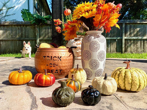 Assorted Stone Carved Pumpkin FB2749