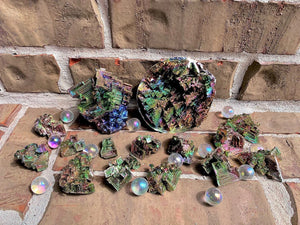 Iridescent Bismuth, assorted sizes, FB1145