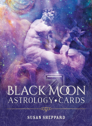 Black Moon Astrology Oracle Deck and Guidebook, FB2622
