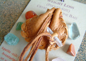 Crystal Medicine Bag - Pocket Size - Weight Loss