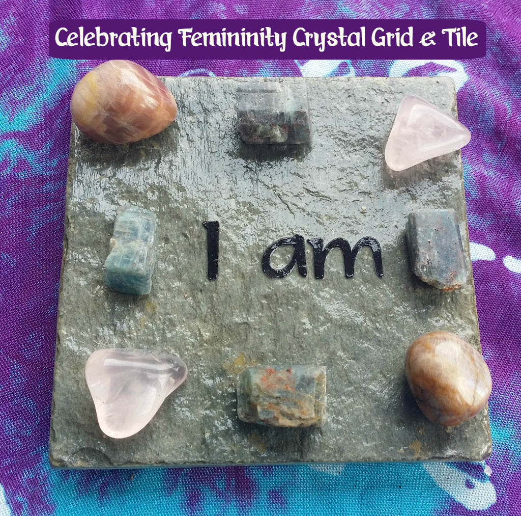 Celebrating Femininity Crystal Grid