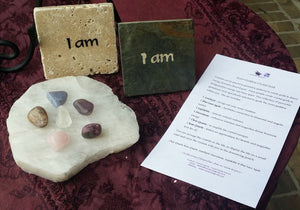 "Inner Goddess Crystal Grid & ""I am"" Tile"