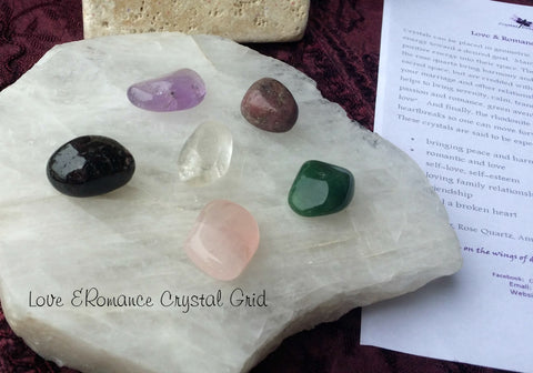 Love & Romance Crystal Grid