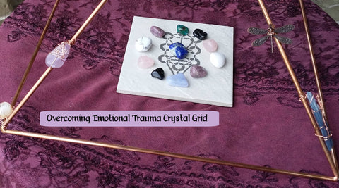 Emotional Distress & Recovery Crystal Grid