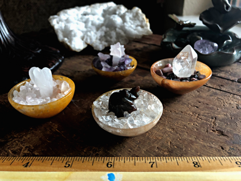 Gem Bowl Crystal Garden; FB2063