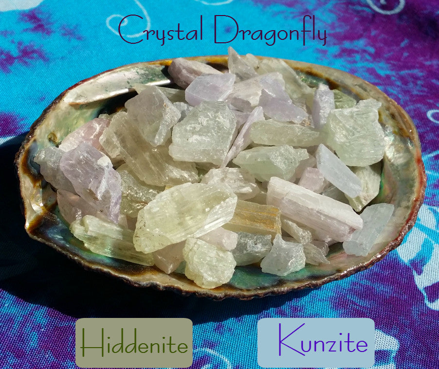 Kunzite - Unconditional Love - Balance - Luck - Joy - Panic Attacks