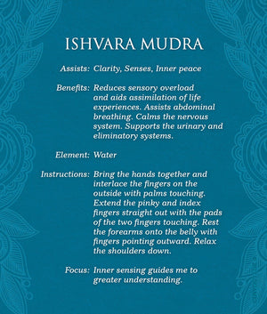 Mudras For Awakening The Five Elements Deck & Book Set