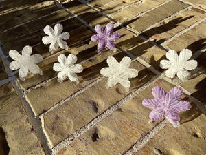 Clear Quartz, White Howlite, Lepidolite or Rose Quartz Snowflake FB2416