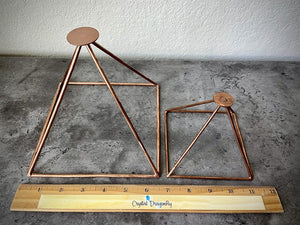 Copper Pyramids, with Platform Top; FB1660