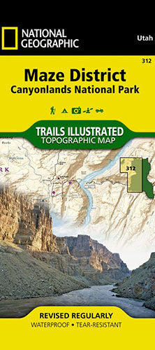 Maze District Trail Map
