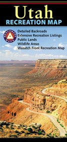 Utah Recreation Map | Utah.com Merchandise