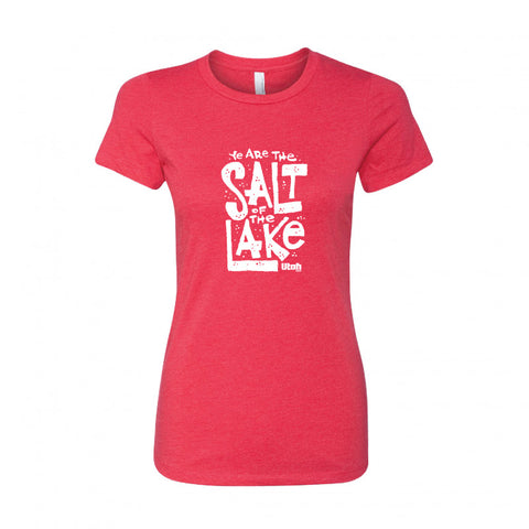 "Women's ""Ye Are The Salt Of The Lake"" Tee"