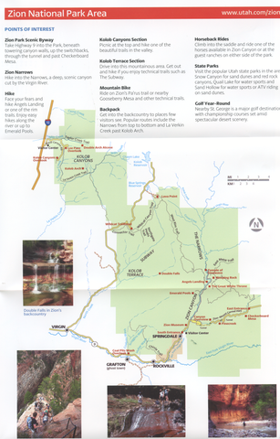 National Parks Map Guide An Essential Map For Utah National - Utah national parks map