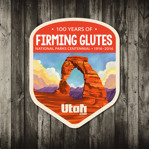 Arches National Parks Sticker | Utah.com Merchandise