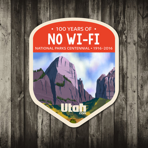 Zion National Park Sticker | Utah.com Merchandise