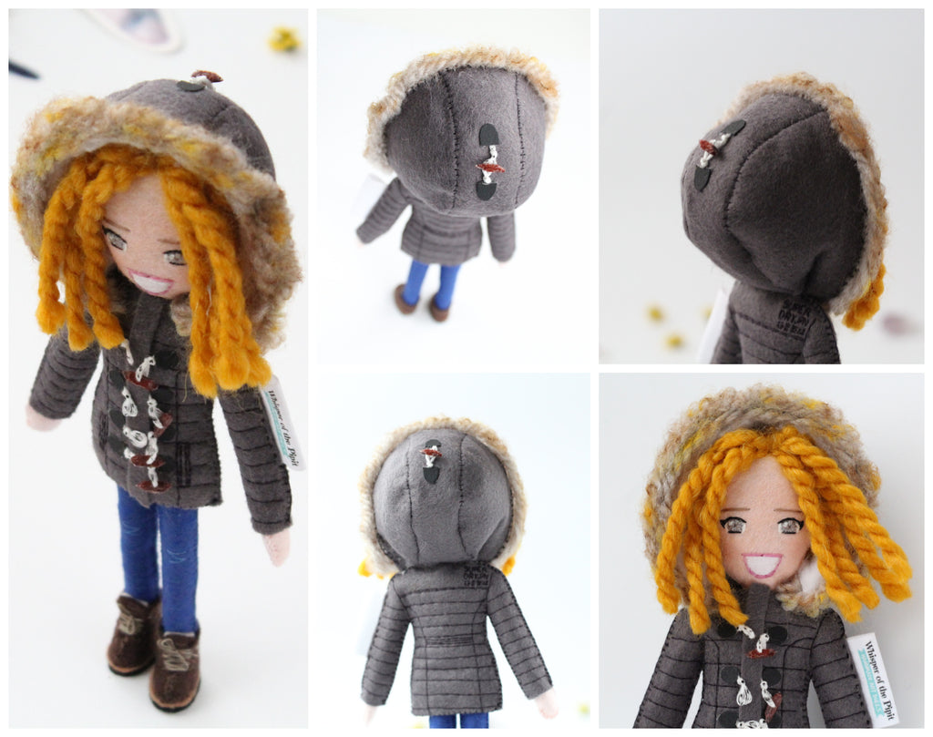 custom doll for 40th birthday for wife or sister