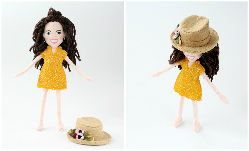 personalised doll for a show, whisper of the pipit
