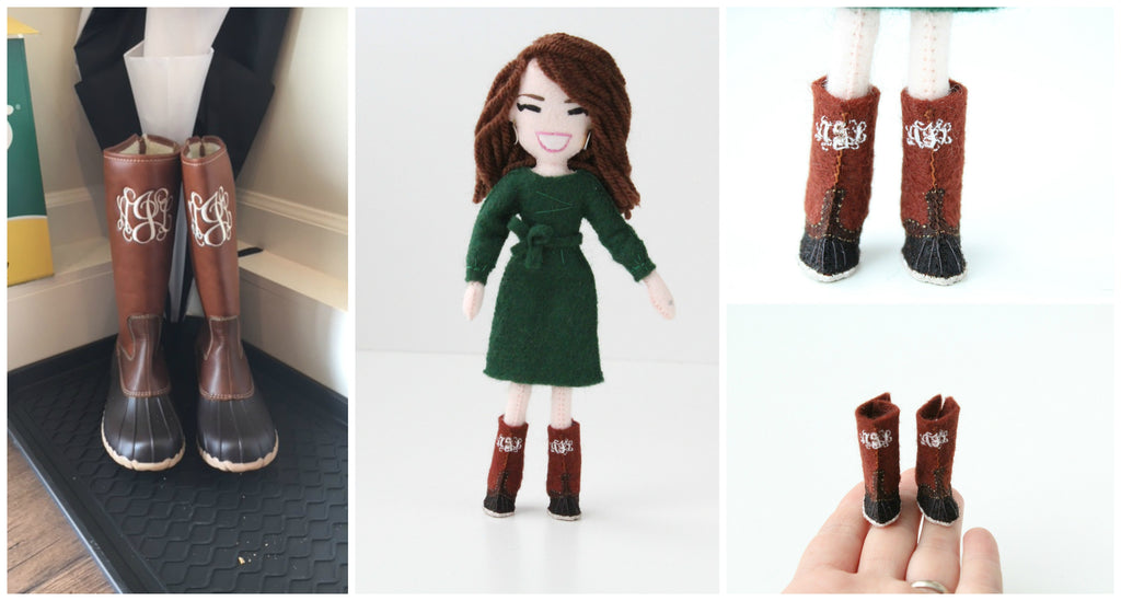 doll accessories whellington boots