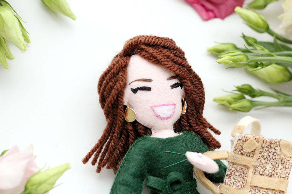 selfie doll of Amber