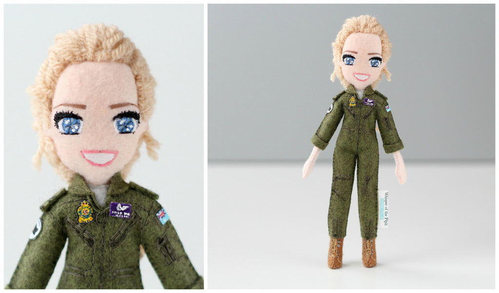 selfie doll of RAAF