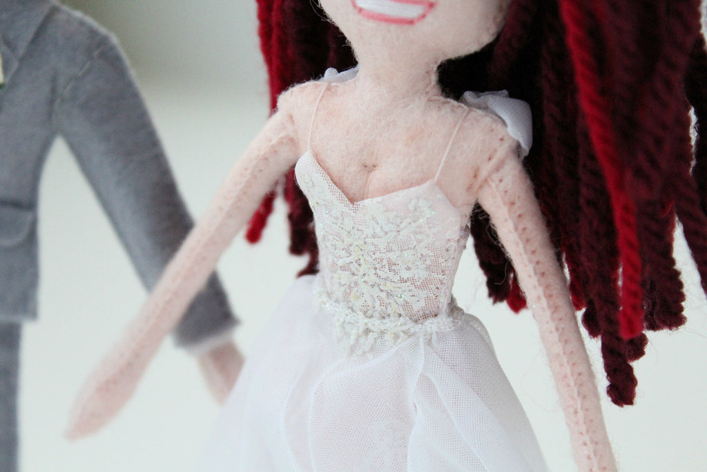 wedding dolls by malgo amos