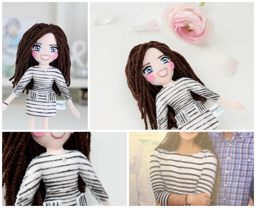custom selfie doll, art dolls for sale, what to buy for valentine's day, present for bff, present for girlfriend, gift for her, gift for him,