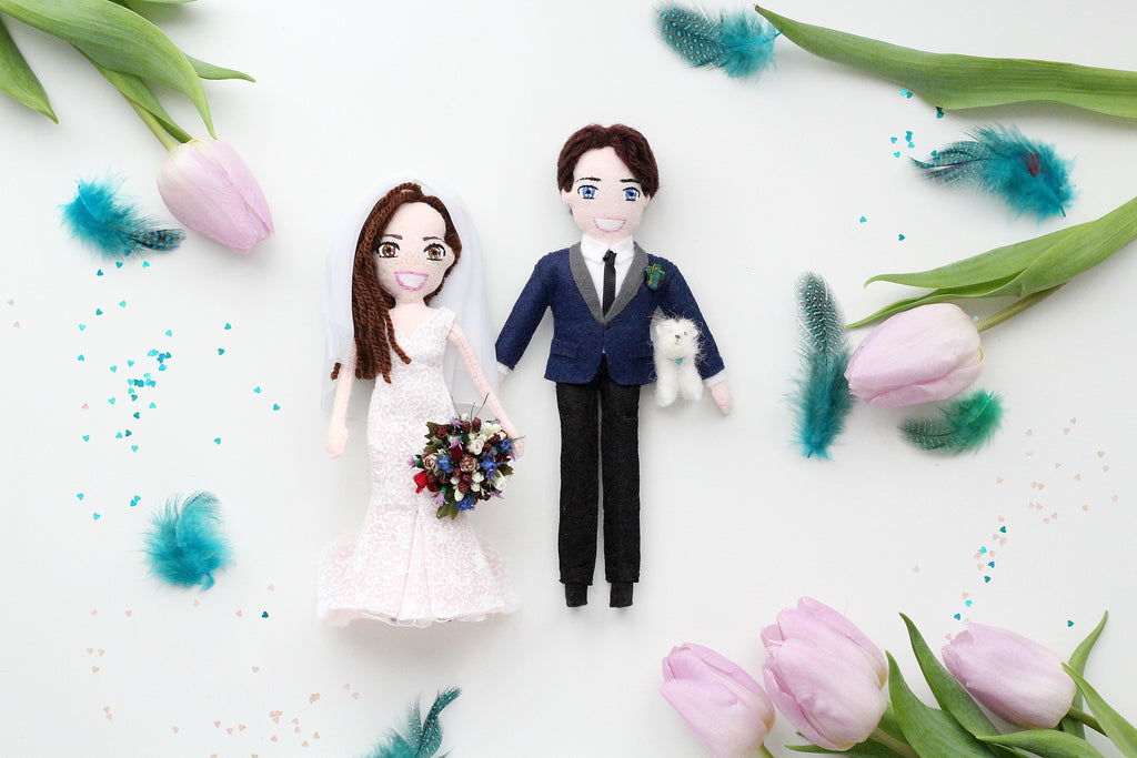 selfie dolls for wedding