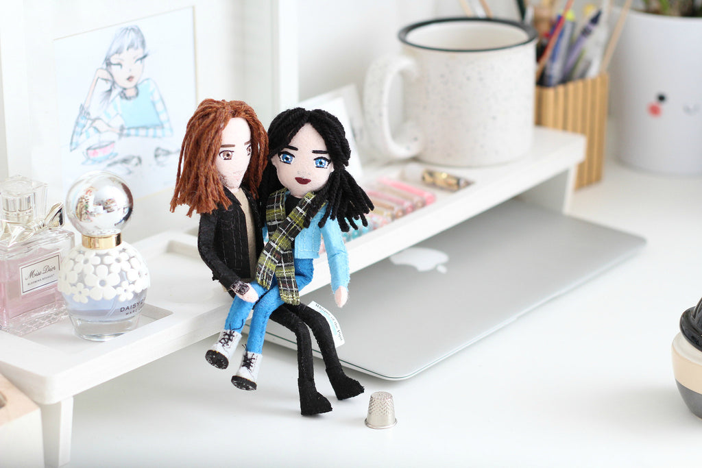 boyfriend and girlfriend gift idea, gift for anniversary, selfie dolls