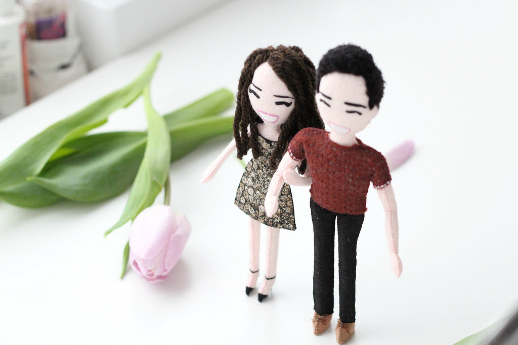 selfie dolls made for Cathleen