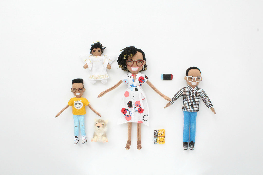 family dolls made to order