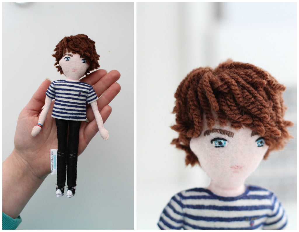 unique gifts, 21st birthday gifts, personalised gift, selfie doll, whisper of the pipit doll, malgo amos, birthday gift,