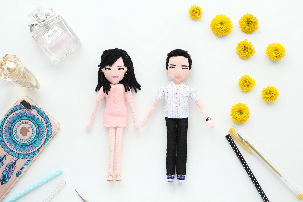selfie dolls made to order according to the photos sent by customer