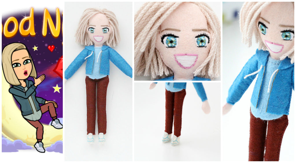selfie doll for friends