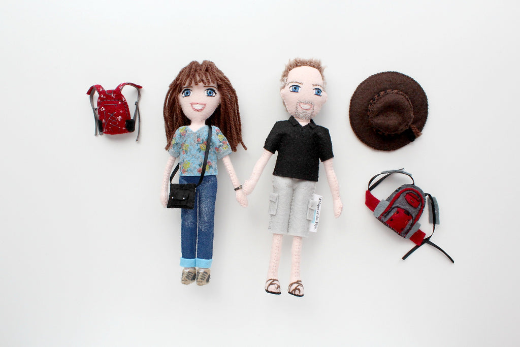 selfie dolls, handmade dolls, unique gifts
