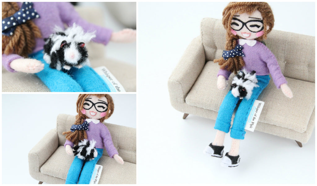 custom pet doll guinea pig