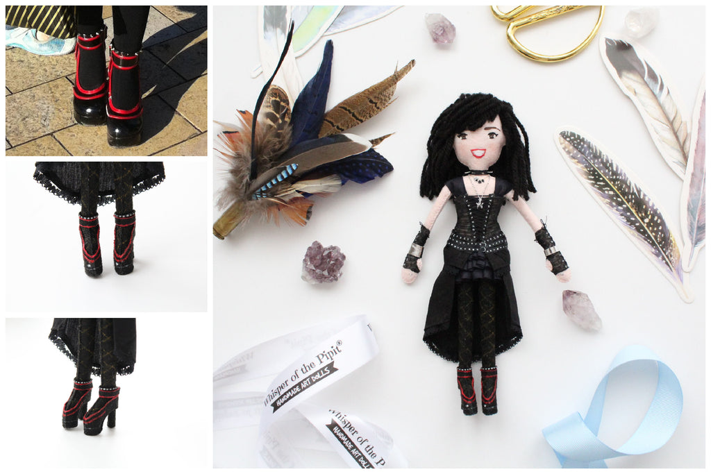 doll made according to pictures provided by customer