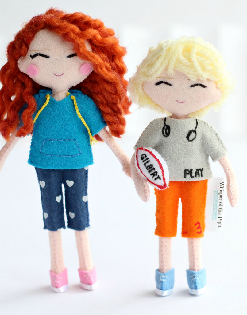 How about a selfie art doll? These cuties are Emma's children :) Click here now: http://www.whisperofthepipit.com/collections/selfie-dolls or re-pin for later
