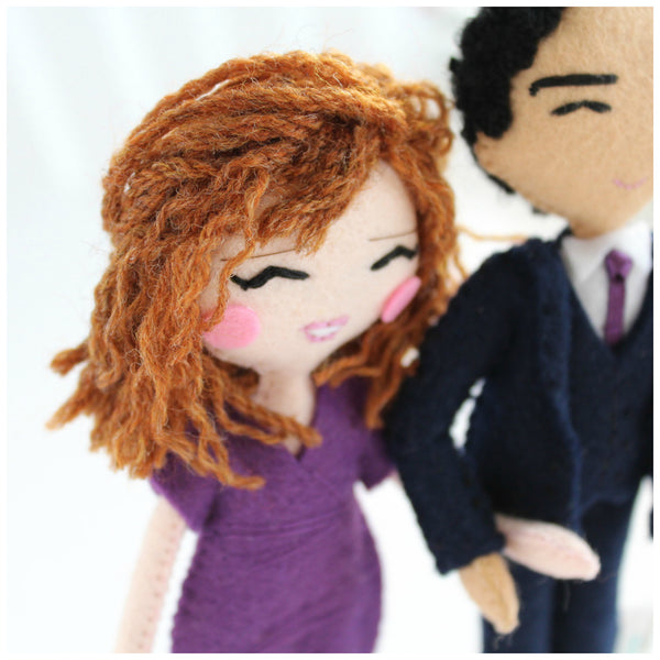 custom art dolls, dolls made to order. Selfie dolls. Mini-me doll. Personalised dolls. Family dolls. SHOP: www.whisperofthepipit.com