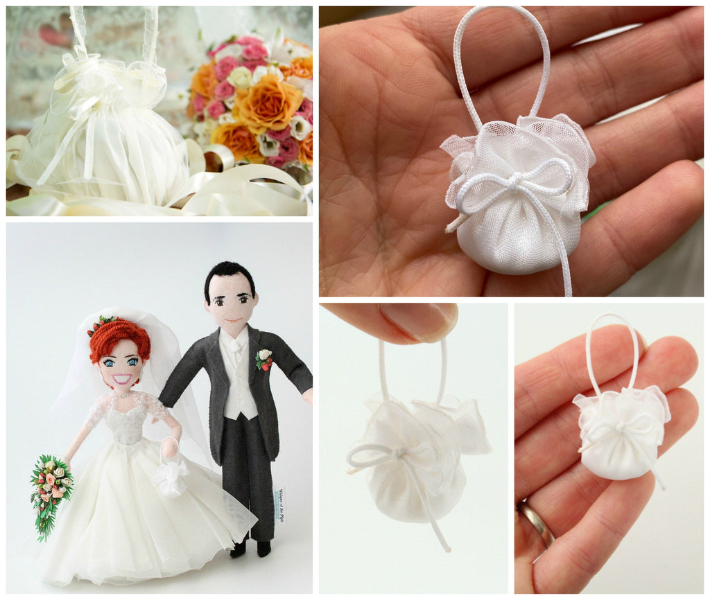 bride doll with accessories