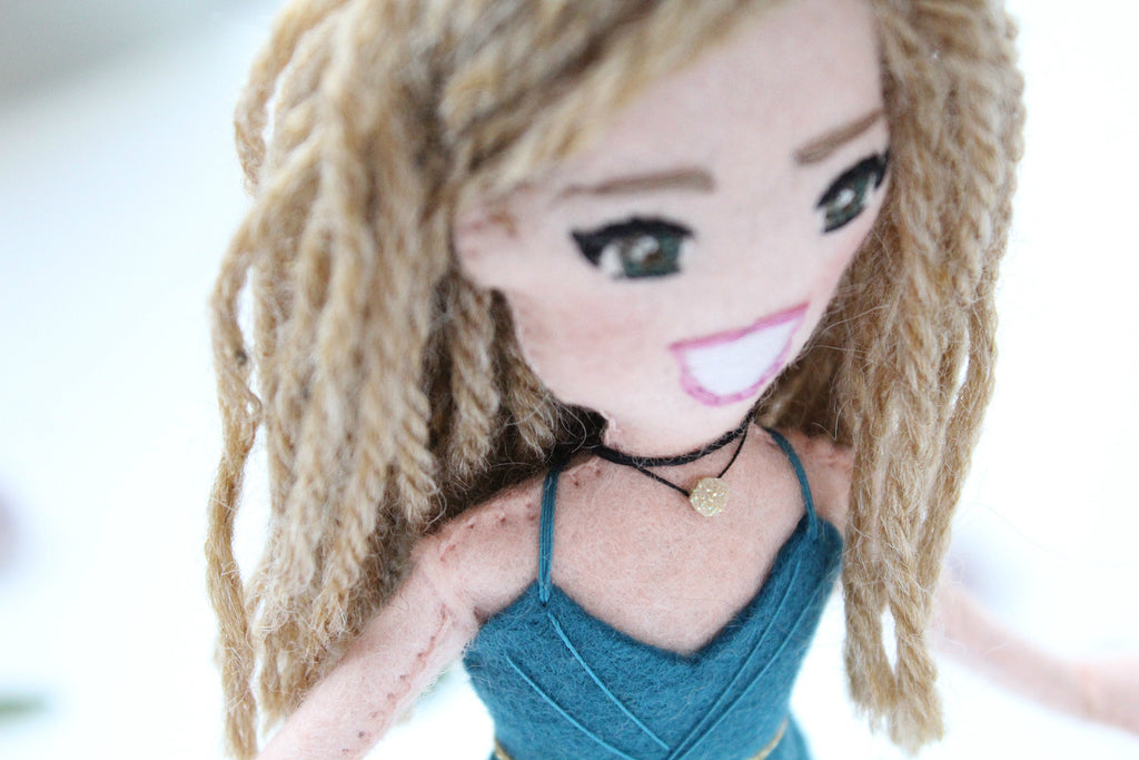 selfie doll, personalized doll from pictures